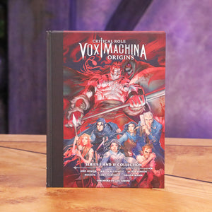 Critical Role: Vox Machina Origins Series I and II Library Edition Hardcover