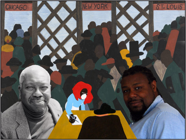 Jacob Lawrence and Vincent Keele