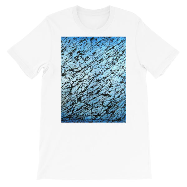 BLACK AND BLUE UNISEX T-SHIRT
