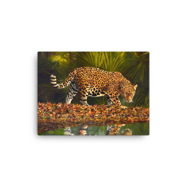 BIG CAT CANVAS ART PRINT