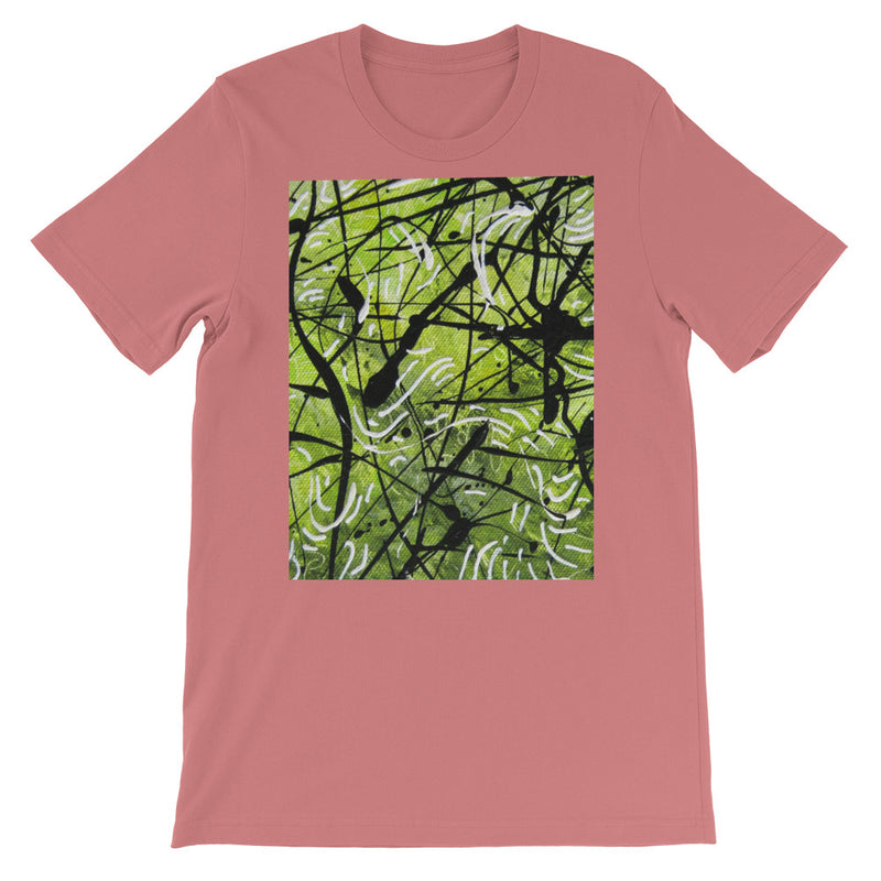 BLACK AND GREEN UNISEX T-SHIRT