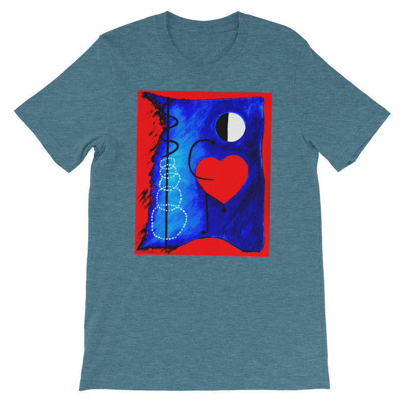 Moonlight Love T-shirt by Vincent Keele