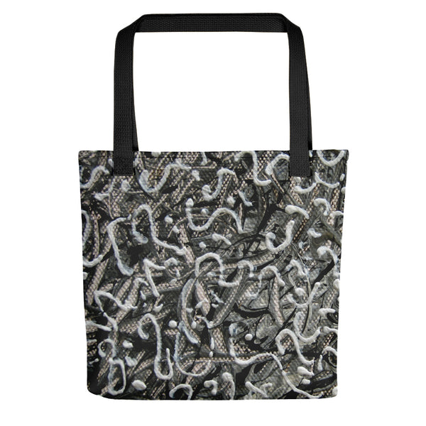 SHADES OF GREY TOTE BAG
