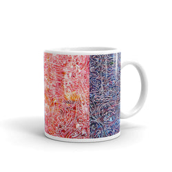 Color Abstract Art Mugs