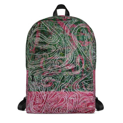 Abstract Art Backpacks