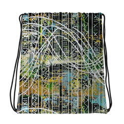 STRUCTURE AND CHAOS 1 DRAWSTRING BAG