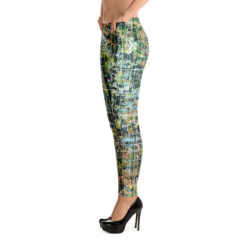 African Print Leggings