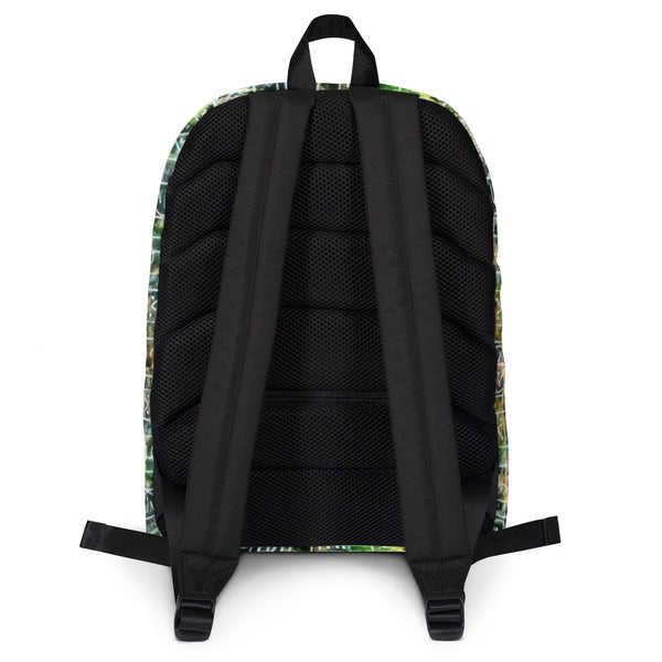 Authentic African-print backpacks