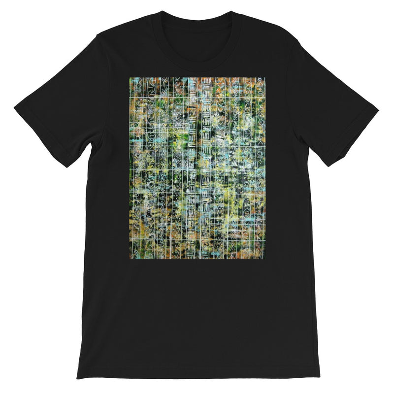 GREEN AND YELLOW UNISEX T-SHIRT