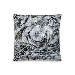 ROOT CHAKRA FLOWER THROW PILLOW