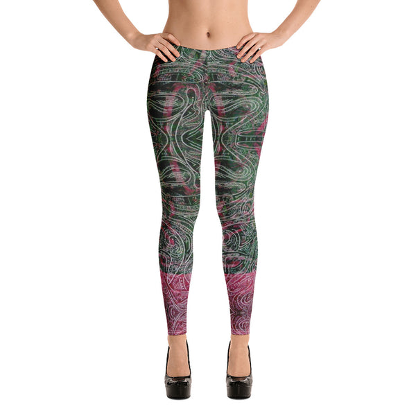 GREEN DRAGON ARTIST LEGGINGS