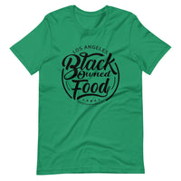 Black Owned Food LA (logo-black text) Short-Sleeve Unisex T-Shirt