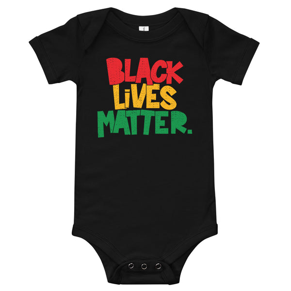 Black Lives Matter (period) Onesie