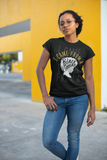 I Came From a Black Woman Short-Sleeve Black Unisex T-Shirt (Adult)