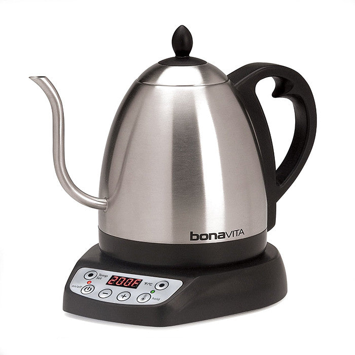 1-Liter Variable Temperature Digital Electric Gooseneck Kettle