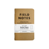 Kraft Ruled 3-pack Notebook