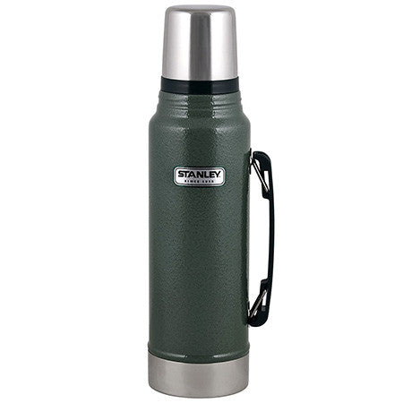 Classic Vacuum Bottle 1.1 Quart, Hammertone Green