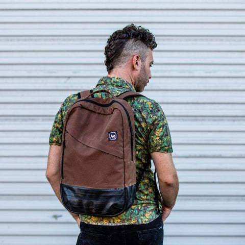 Brooklyn Backpack - Waxed Canvas - Only 20 Available