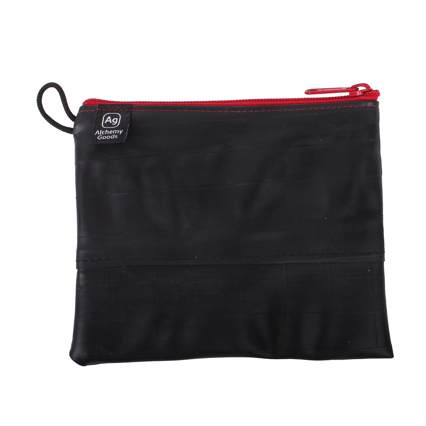 large Zipper Pouch - Red