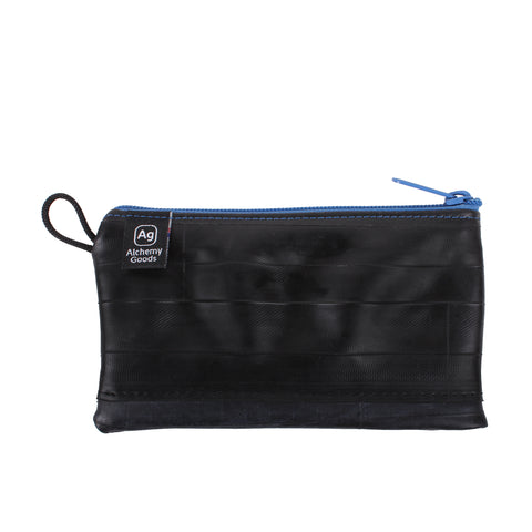 Medium size Zipper Pouch - Blue
