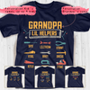 Grandpa's Lil Helpers Personalized Shirt APGP014