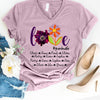 Love Grandma life - Mom life Cute Purple Anemone flower Personalized T-shirt Mug APGM004