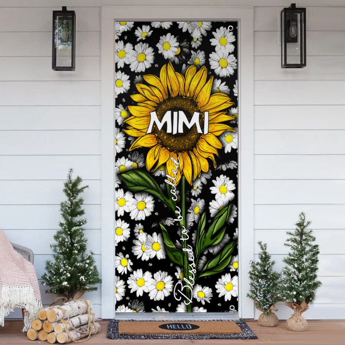 Blessed to be called Mimi - Door Cover - DCGM001