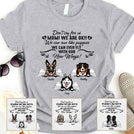 Dont cry for us Mom We are Ok Personalized Shirt APDM125