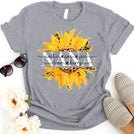 Grandma Mom Sunflower Personalized grandchildren names APGM009