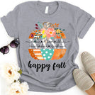 Grandma Mom Happy Fall Colorful Pumpkin Personalized Grandchildren Names APGM015