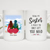 Christmas Girl - Being My Sister Is Really The Only Gift You Need. Love You - Personalized Mug M2FR001