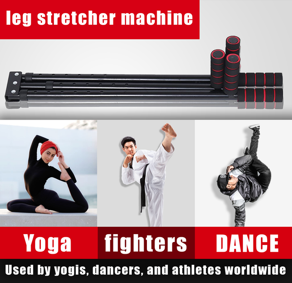 leg stretcher machine Used by yogis, dancers, and athletes worldwide