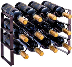 3 Tier Stackable Wine Rack