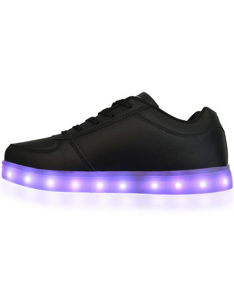 LED Shoes - All Black - Electric Styles | World's Number 1 Light Up Shoe Store - {product_type}} -  - 4