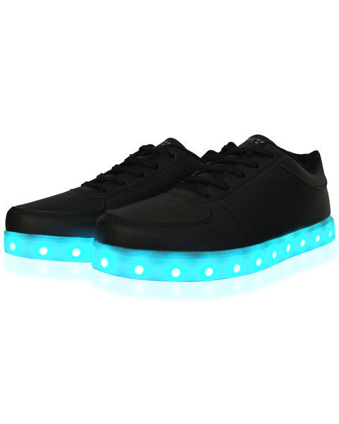 Light Up LED Shoes - All Black - Electric Styles | World's Number 1 Light Up Shoe Store - {product_type}} -  - 2