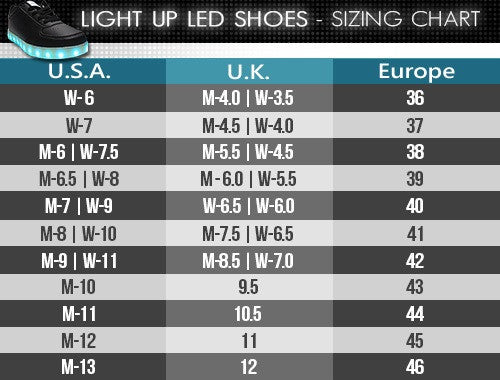 Light Up Shoes- Original - Electric Styles | World's Number 1 Light Up Shoe Store - {product_type}} -  - 9