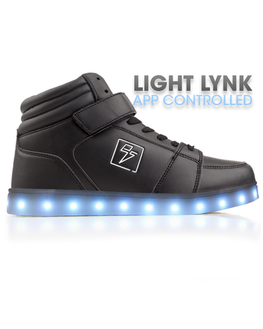 High Top Bolt - Light Lynk Shoes ( Black )