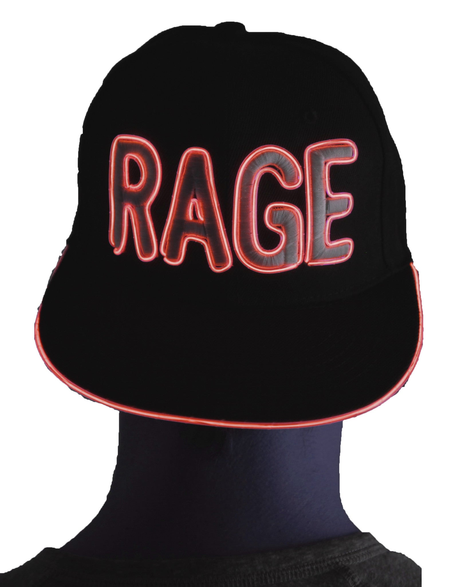 Light Up Hat - Rage - Electric Styles | World's Number 1 Light Up Shoe Store - {product_type}} -  - 5