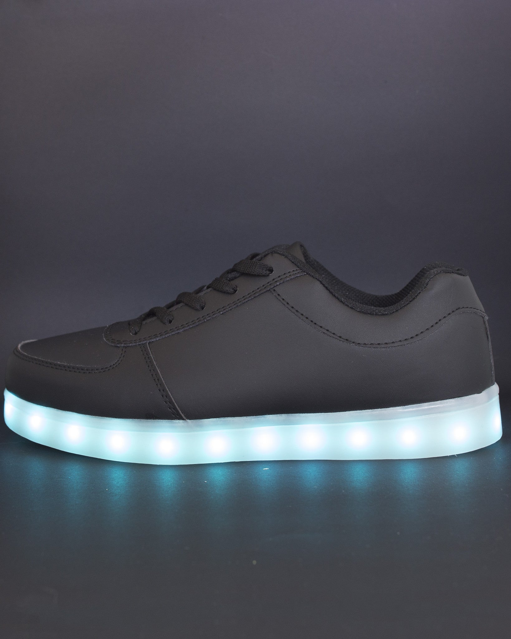 Light Up Shoes - All Black - Electric Styles | World's Number 1 Light Up Shoe Store - {product_type}} -  - 4