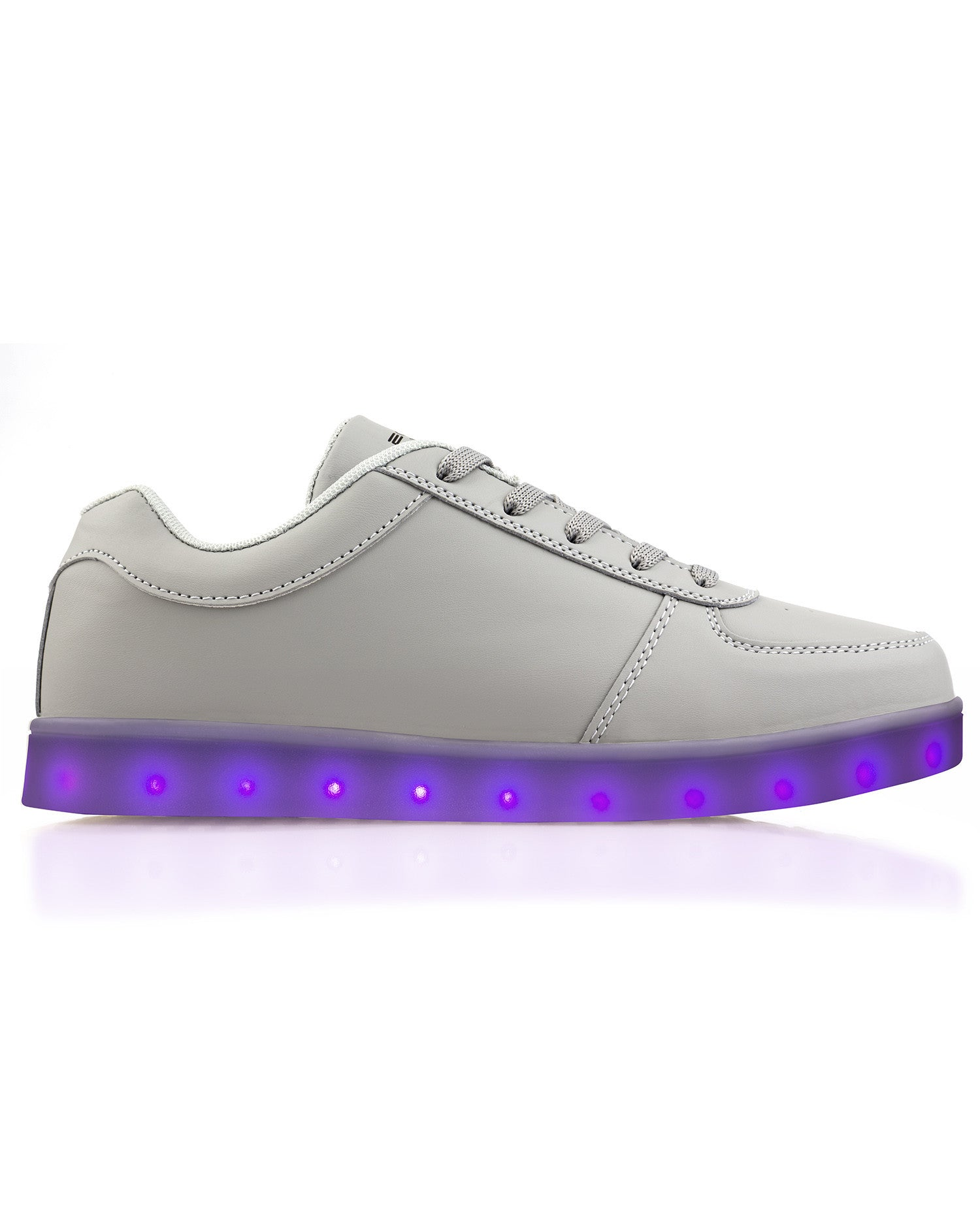 Electric Shoes - All Black - Electric Styles | World's Number 1 Light Up Shoe Store - {product_type}} - Grey / Men's 6 - 13
