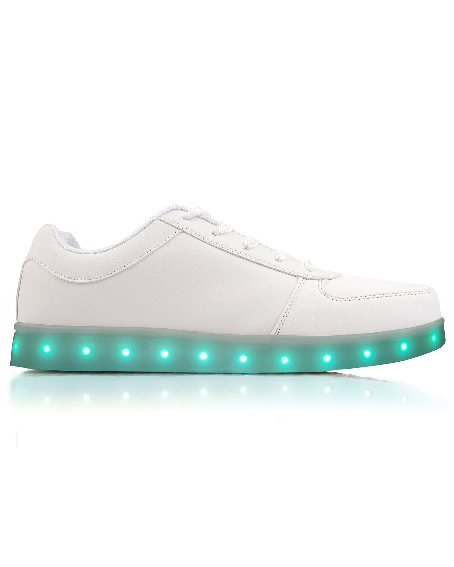Electric Shoes - The Original - Electric Styles | World's Number 1 Light Up Shoe Store - {product_type}} - White / Men's 8 - 1