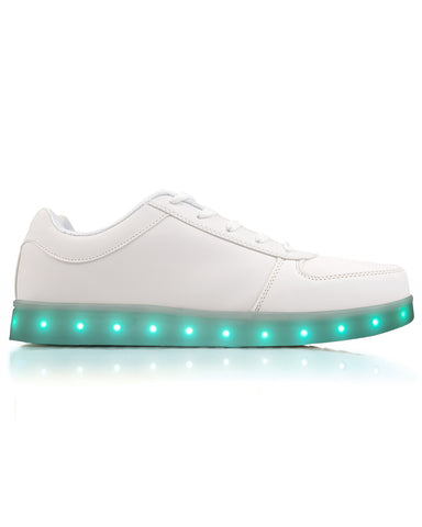 Light Up LED Shoes - White