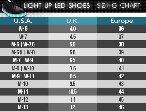 Light Up Shoes - All Black - Electric Styles | World's Number 1 Light Up Shoe Store - {product_type}} -  - 7