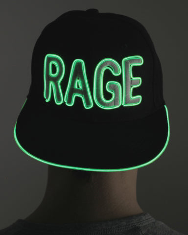 Light Up Hat - Rage - Electric Styles | World's Number 1 Light Up Shoe Store - {product_type}} -  - 2
