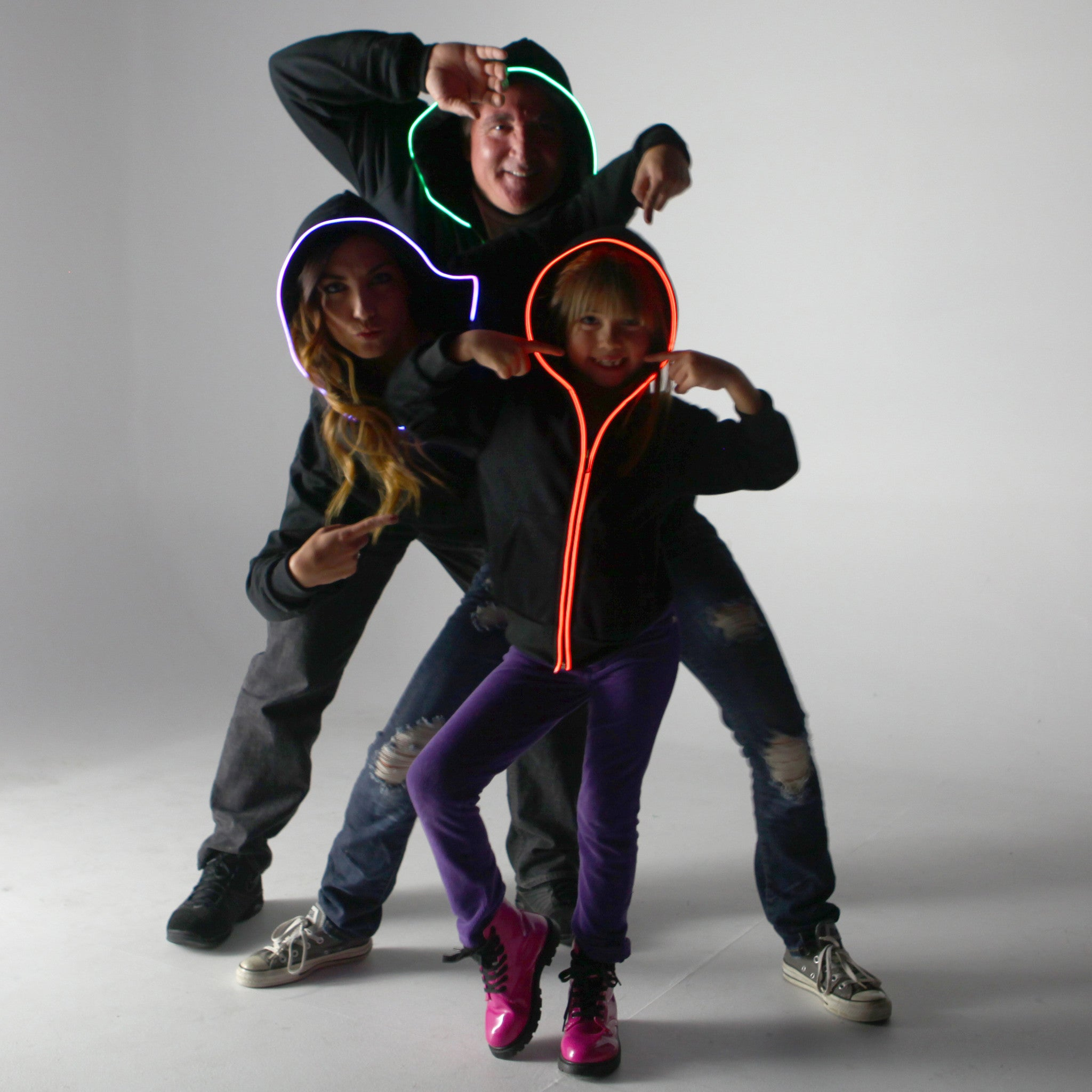 Youth-Size Light Up Hoodies