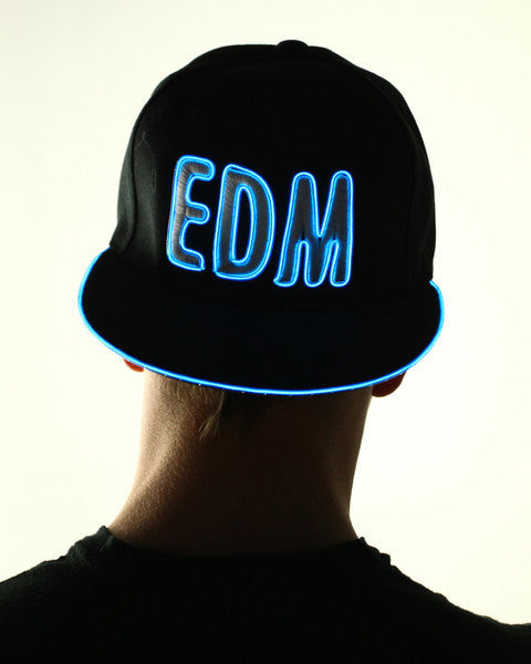 Light Up Hat - EDM - Electric Styles | World's Number 1 Light Up Shoe Store - {product_type}} - Blue - 2