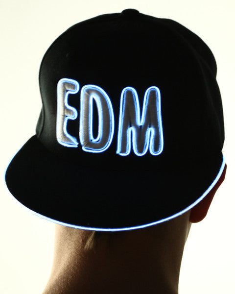 Light Up Hat - EDM - Electric Styles | World's Number 1 Light Up Shoe Store - {product_type}} - White - 4