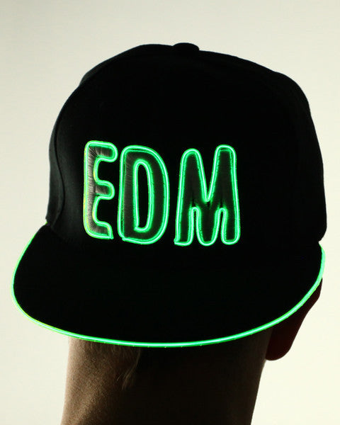 Light Up Hat - EDM - Electric Styles | World's Number 1 Light Up Shoe Store - {product_type}} - Green - 3