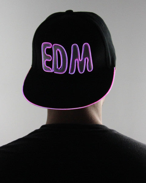 Light Up Hat - EDM - Electric Styles | World's Number 1 Light Up Shoe Store - {product_type}} - Purple - 6