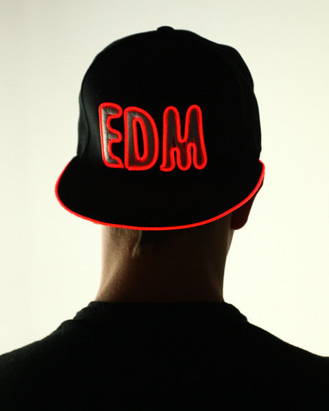 Light Up Hat - EDM - Electric Styles | World's Number 1 Light Up Shoe Store - {product_type}} - Red - 1
